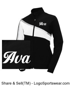 Ava French Poodle Team Jacket Youth Design Zoom