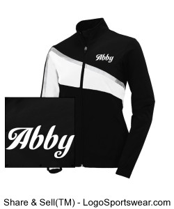 Abby competition team jacket Rubber Duckies Design Zoom